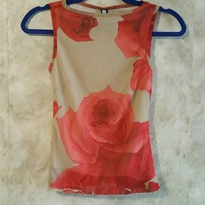 Forever 21 sleeveless top with liner